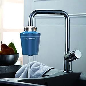 Amazon accueil robinet de cuisine purificateur d 39 eau charbon actif filtre eau bricolage - Purificateur d eau robinet ...