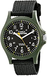 Timex Men's TW49998009J Expedition Acadia Watch with Black Nylon Band
