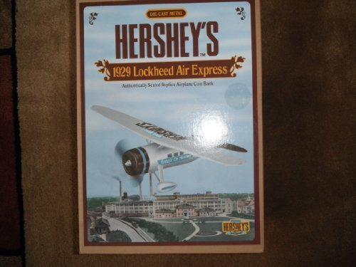 Hershey's 1929 Lockheed Air Express Coin Bank