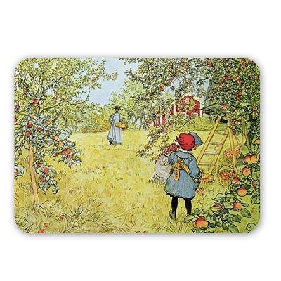 the-apple-harvest-by-carl-larsson-mousepad-nata-1-4-rliche-gummimatten-bester-qualitat-mouse-mat