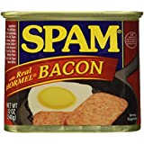 Spam with Real Hormel Bacon Luncheon Meat 12 oz