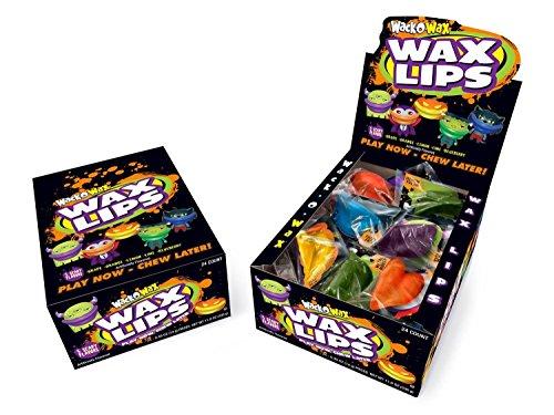 Wack-O-Wax 5 Flavor Lips From Concord - 24ct Box (Concord Wax Lips compare prices)