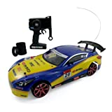 Super Fast Drift Champion R/C Sports Car Remote Control 4WD Drifting Race Car 1:14 + Lights And 2 Sets Of Tires...