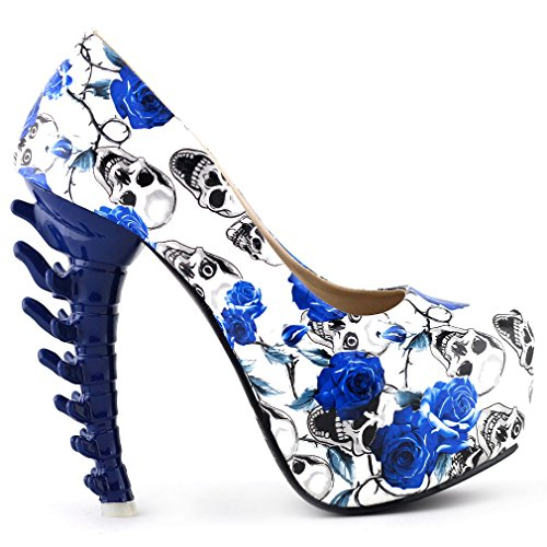 Show Story Cute Sexy Romantic Fashion Gift For Her Pumps,LF80610BU40,9US,Blue