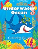 img - for Underwater Ocean Fun Coloring Book: Fish and Sea Life! (Super Fun Coloring Books For Kids) book / textbook / text book