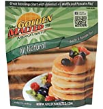 Carbon's Golden Malted Natural Waffle and Pancake Flour, 32 Ounce (Pack of 3)