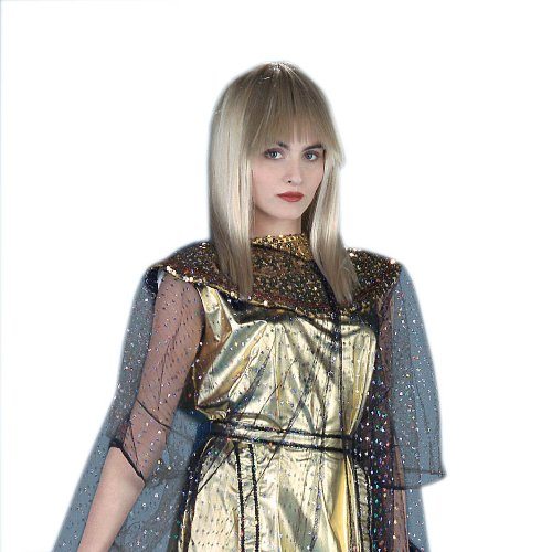 Deluxe Cleopatra Wig (Blonde) Costume Accessory
