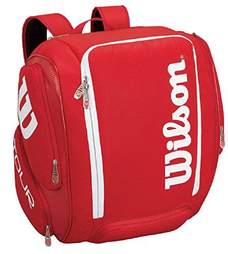 Wilson Rucksack Tour V Backpack XL, rot, 34.3 x 30.5 x 47 cm, 49 Liter, WRZ843699