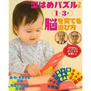 改訂版 久保田競・カヨ子考案 型はめパズルつき  1~3才 脳を育てる遊び方 (主婦の友生活シリーズ)
