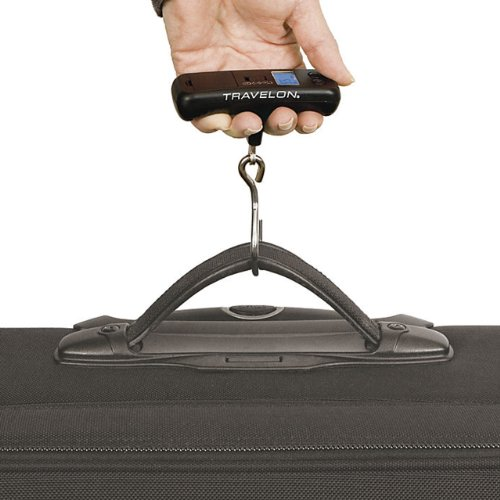 TRAVELON Luggage Scale 12402, One Size, Red