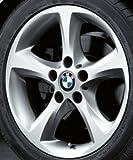 Original BMW Alufelge 1er E81 E82 E87 E88 Sternspeiche 256 in 17 Zoll
