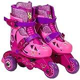 Princess Convertible 2-In-1 Kids Skate, Junior Size 6-9