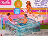 Barbie dash 'n Slide swimming pool Playset - pleased Family (2004 Mattel Canada)