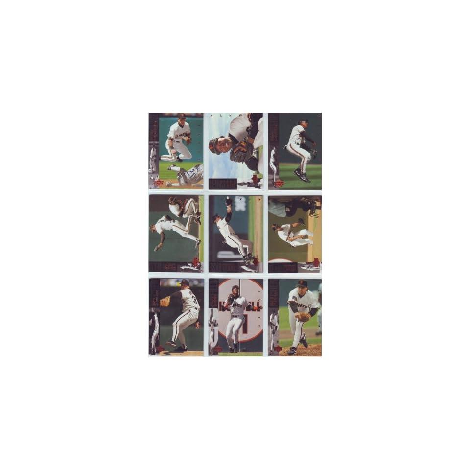 1994 Upper Deck Baseball San Francisco Giants Team Set