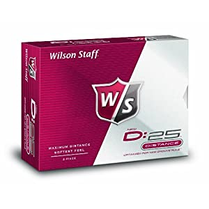Wilson Staff D:25 Golf Balls (12-Balls)