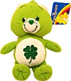 Care Bears Soft Toy. Good Luck Care Bear 7 inch Soft Toy