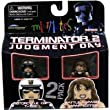 Terminator 2 Minimates Series 2 Motorcycle Cop T-1000 and Battle Damaged Sarah Connor 2-pk