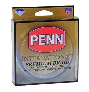 Penn International Braid Blue Fishing Line 20mm 21.1kg, 270 m