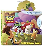 Peekaboo Toys (Disney/Pixar Toy Story) (Pop-Up Book)