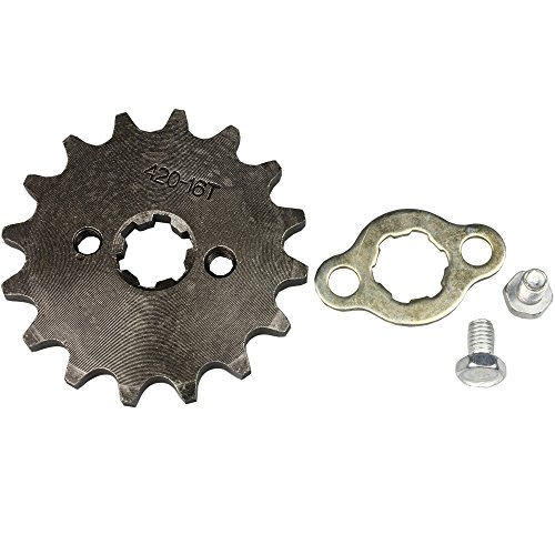 Wings Sprocket Front 420-16T 17mm Motorcycle ATV Dirtbike