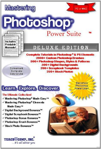 Mastering Photoshop & Elements Power Suite Video Training Tutorials v. CS6 (PS) & 10.0 (PSE)