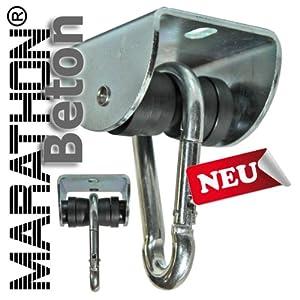 Rollengelenk BETON m. Montageset (MAR.1), sicherer Schaukelhaken, Schaukelgelenk mit Kugellager in Einem