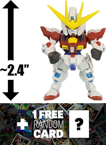 BG-011B Build Burning Gundam: Fusion Works FW Gundam Converge Series #20 + 1 FREE Official Japanese Gundam Trading Card Bundle [#114]