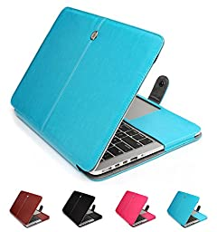 GranVela MacBook Notebook Premium Quality PU Leather Sleeve bag, Skin Case Cover for Apple 15\