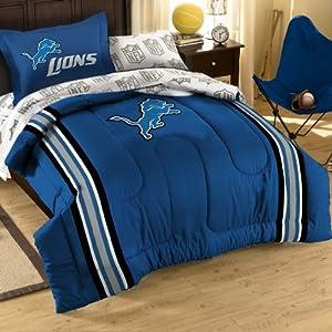 Detroit Lions Bed in a Bag Comforter Set by Northwest