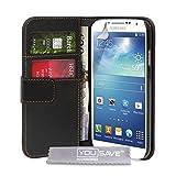 """Samsung Galaxy S4 H�lle Schwarz PU Leder Brieftasche Taschevon """"Yousave Accessories�"""""""