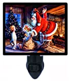 Christmas Night Light - Santa's Warmth - Holiday