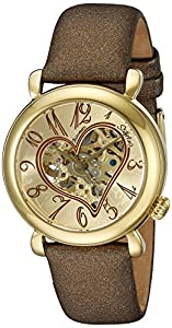 Stuhrling Original Women's 109.1235E31 Lifestyle 'Cupid' Automatic Skeleton Watch
