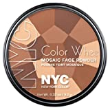 (3 Pack) NYC Color Wheel Mosaic Face Powder - All Over Bronze Glow