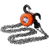 2 Ton Chain Hoist Lift Engine Hook Pulley 4000lb New