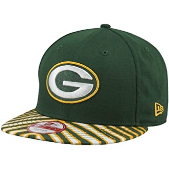 NFL Green Bay Packers 9Fifty Zubaz Snapback Visor by New Era