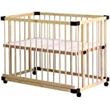 ファルスカ farska ベッドサイド ベッド 03 746050 【工具不要】組み立て簡単! 9段階の高さに調節可能 ママと目線をあわせて 添い寝 ができるベビーベッド