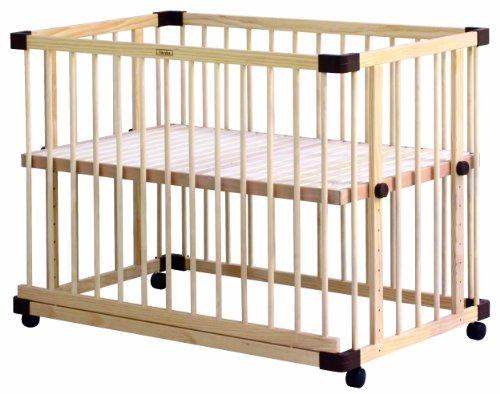 ファルスカ 【工具不要】【コンパクトベッド フィット L にぴったりサイズ】9段階調節可能添い寝もできるベビーベッド ベッドサイド ベッド 03 746050