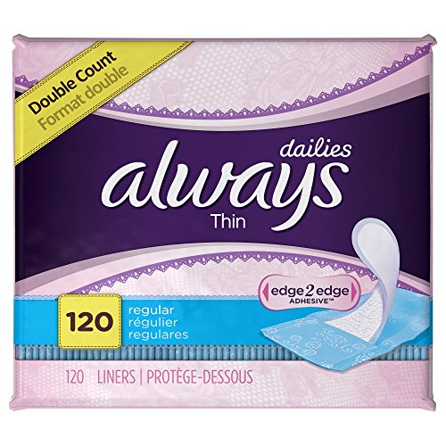 always-thin-dailies-unscented-wrapped-liners-regular-120-count-pack-of-2