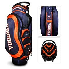 Brand New Virginia Cavaliers NCAA Cart Bag - 14 way Medalist by Things for You