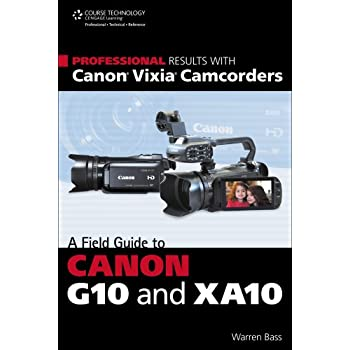 We're in the midst of a digital media-making revolution--and the Canon Vixia G10 and XA10 camcorders are at the forefront. Blurring the line between