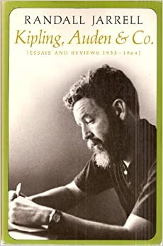 critical essays on randall jarrell From frances c ferguson, randall jarrell and the flotations of voice (originally in georgia review 28 [fall 1974]), rep in suzanne ferguson, ed critical essays on randall jarrell (boston: hall, 1983), 169.