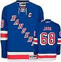 Jaromir Jagr Blue Reebok NHL Premier New York Rangers Jersey