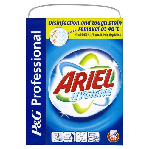 P&G Professional Ariel Extra Hygiene Biological Laundry Powder 90 Washes 7.2 kg