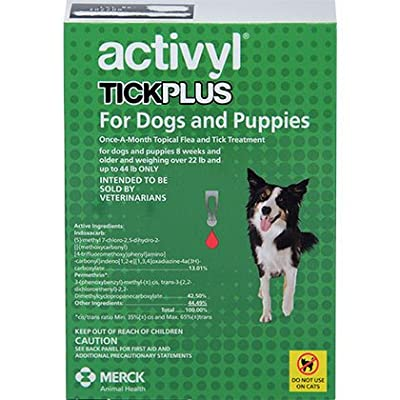 Activyl Plus Over 22.1 Lb And Up To 44 Lb 6pk Dogs