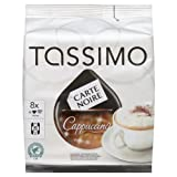 TASSIMO Carte Noire Cappuccino 16 discs, 8 servings (Pack of 5, Total 80 discs, 40 servings)by Tassimo