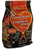ShaSha Cocoa Snap Cookies, 10.5oz (300g)