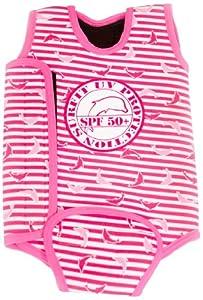 Surfit dolphin striped baby venda neopreno para niña
