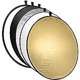 Réflecteur mantona pliable 5 en 1, 110 cm