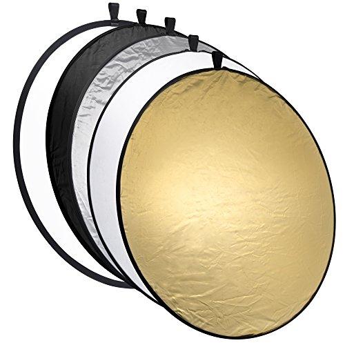Mantona Réflecteur pliable 5 en 1, 56 cm