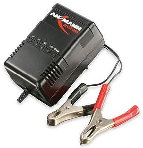 ANSMANN 9164016 ALCS 2-24 A Kfz-Ladegerät für Autobatterie Roller Motorrad Blei-Bleigel-Akkus